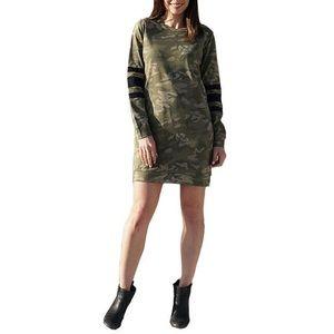 Love Fire Womens Sweatshirt Dress Camo
